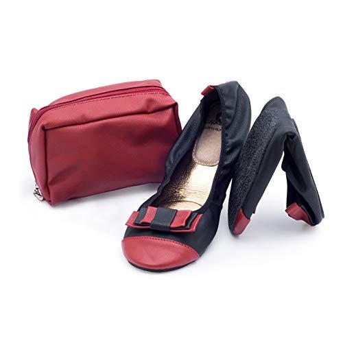CatMotion Passion Zapatos Plegables para el Bolso, L 40/41 EU, 6.5/7.5 UK