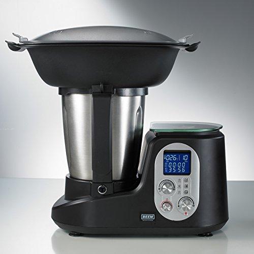 BEEM Thermostar MiXX und Cook, Multifunktionsgerät mit Kochfunktion inklusiv Kochbuch, Edition Eckart Witzigmann, Edelstahl/schwarz - 4