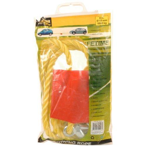 Relaxdays Abschleppseil mit Warnflagge bis 5000 Kg