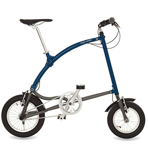 Ossby Arrow Bicicleta Plegable 3 velocidades (Azul Marino)