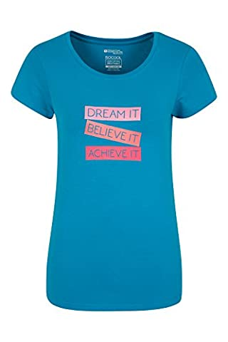 Mountain Warehouse T-shirt Femme Manches Courtes Absorbant Dream It Sarcelle 40