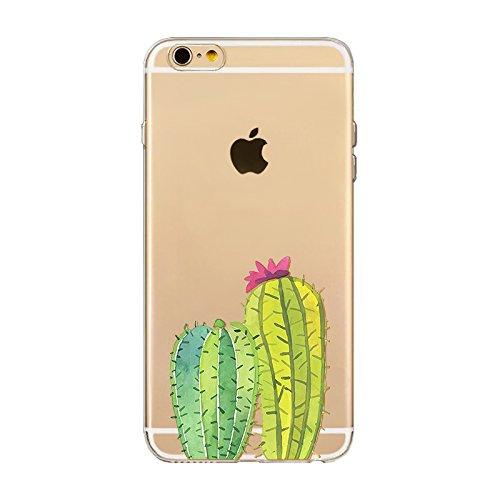 "CoqueiPhone 7 Plus Etui Housse,BoomTeck Coque Pour 5.5"" Apple iPhone 7 Plus Silicone Souple Transparente Motif Clear Ultra Mince Anti Choc Anti-rayures Gel TPU Etui Protection Bumper Case - Vacances  02"