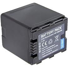 Amsahr Grade A de celdas de batería (2800mAh, 7.4V) para Panasonic VW-VBG260gris