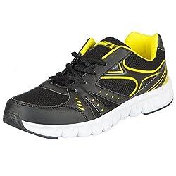 Sparx Womens Black Yellow Running Shoes SL_79-38