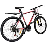 Cosmic Eldorado 1.0L 21 Speed Premium Edition MTB Bicycle (Black/Red)