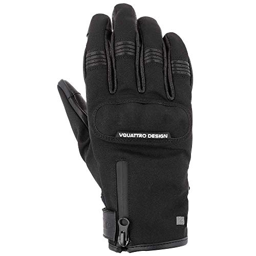 Preisvergleich Produktbild V Quattro Design V4G-COM18-IT-BKM Commuter 18 Herren-Handschuhe,  Schwarz