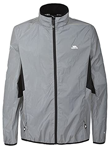 Trespass Men's Zig Active Jacket, Silver Reflective,