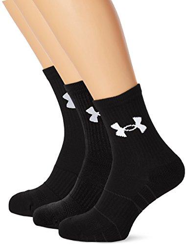 Under Armour Herren UA Elevated Perform Midcrew Sportswear-Socken & Strümpfe, Black, - Brady Socken Tom