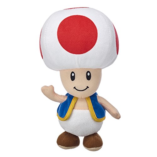 Super Mario-Kong-Luigi-Toad-Yoshi,Plush,Soft Toys,5 Characters Available! (Toad :32cm)