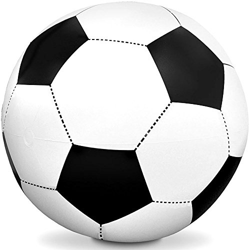 German Trendseller® - Ballon Gonflable Football de plage ? Jeux de plage ? Pool 0791916484250