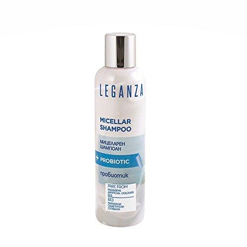 Leganza Micellar Shampoo No Sulfates Paraben Free for All Hair Types