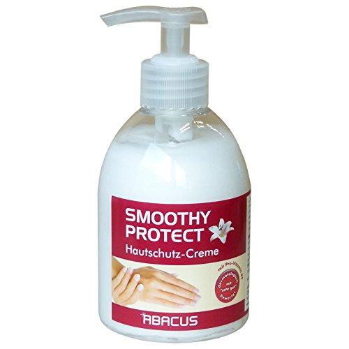 SMOOTHY PROTECT 300 ml (4540) --- Hautschutzcreme Handcreme Creme für stark beanspruchte Haut Hand Hände Handpflege Haupflege -- ABACUS