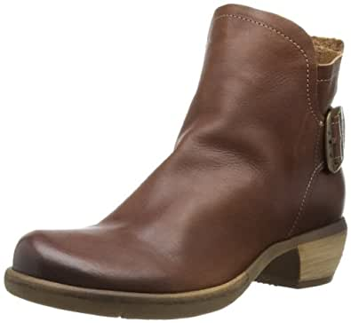 Fly London More, Women's Ankle Boots, Tan, 2.5 UK