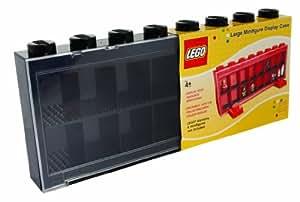 Lego - 106 - Ameublement et Décoration - Vitrine Figurines 16 Cases - Noir