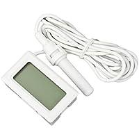 SODIAL(R) Mini Thermo hygrometre numerique LCD thermometre + hygrometre Blanc