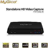 Box para conexión de tarjetas y vídeo en tiempo real, con euroconector RCA HDMI VHS DECODER DVD PC CD PVR para Mac Apple Game Capture consola sin PC