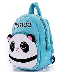 Frantic pandora velvet panda design blue school bag for 2 - Home design shows on amazon prime ...