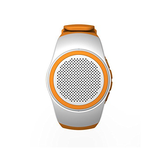 JSGJYX Bluetooth Lautsprecher 1 PSC B20-Sport Musik Watch Tragbare Lautsprecher Mini Bluetooth 2.1+EDR Sport Audio Lautsprecher TF FM Radio Handsfree Handgelenk