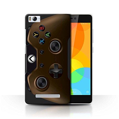 Stuff4® Hülle/Case für Xiaomi Mi 4i / Kupfer Muster/Videogamer/Xbox One Kollektion