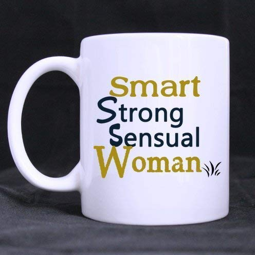 (Moiq-A Friends Gifts Funny Quotes Smart Strong Sensual Woman Bob's Burgers Tea Or Coffee Cup 100% Ceramic 11-Ounce White Mug Fashion)