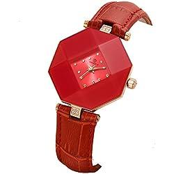 Lady ceramic watch/Fashion strap waterproof watch/ simple leisure quartz watch-B