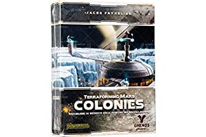 Ghenos Games Colonies expansión para terraforming Mars, Multicolor, tmcl