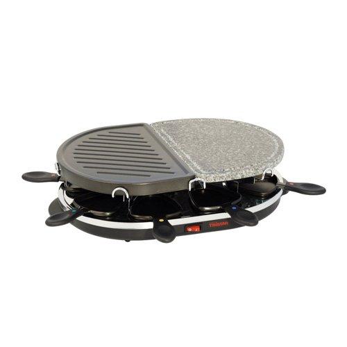 Tristar RA-2946 - Parrilla de piedra y gourmet en uno, para ocho personas