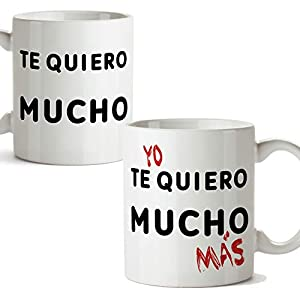MUGFFINS Taza San Valentín (Te