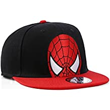 Gorra Snapback de Pico Plano del Hombre Araña (Spiderman Cap)