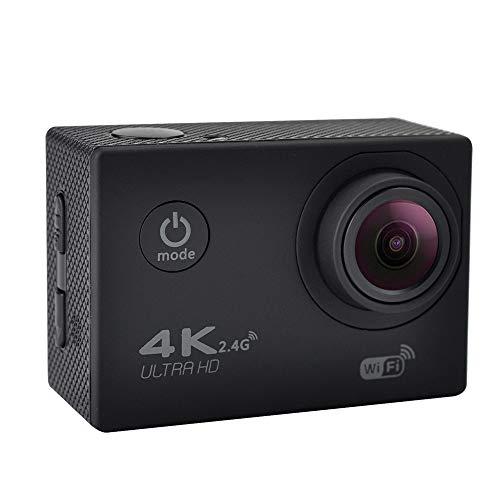 Explopur Sport Action Kamera - Draussen Sport Kamera Weitwinkel WiFi 4K Ultra HD 720P DVR Kamera USB Wasserdicht mit Fernbedienung - Schwarz Dvr-controller