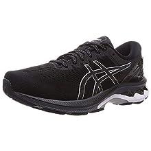 Asics GEL-Kayano 27, Men's Running Shoes, Black/Pure Silver, 10.5 UK (46 EU)