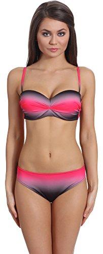 Merry Style Damen Bikini Set N9 23 BT BS (Muster-124, 38)