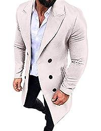 221e8b1246 Amazon.it: trench uomo - Bianco / Uomo: Abbigliamento