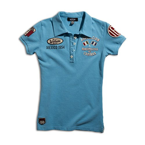 Warson Motors Polo Caminos Blue Ladies Blu