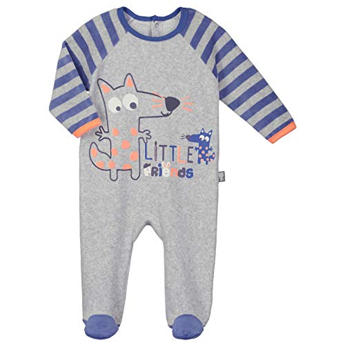 cc78920f4a9d7 Pyjama bébé velours Little Friends - Taille - 18 mois (86 cm)