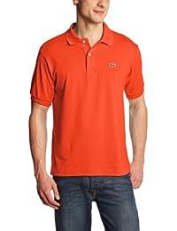 Lacoste L1212  - 00 - Polo Homme  Orange (Citrouille)-XXX-Large (Taille Fabricant : 8)