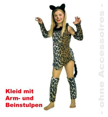 Katze Schnurli Kinder Tier Kostüm Gr 152