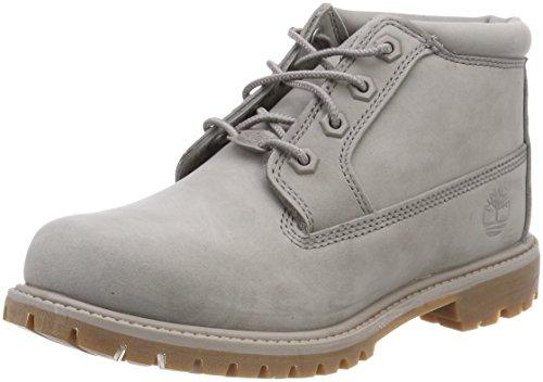 Timberland Damen Nellie Waterproof Chukka Boots, Grau (Steeple Grey Waterbuck F49), 37 EU