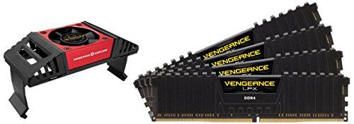 Corsair Vengeance LPX Memorie per Desktop a Elevate Prestazioni con Airflow Fan, 64 GB (8 X 8 GB), DDR4, 4000 MHz, C19 XMP 2.0, Nero