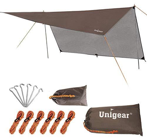 Unigear Rain Fly, Camping Bâche, Toile de Tente, Bâche Anti-Pluie,...