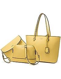 Borsa Donna Set Tracolla Spalla Borse a Mano Grande Progettista Medio Grande Moda Elegante 3 Pezzi Tote Crossbody Clutch