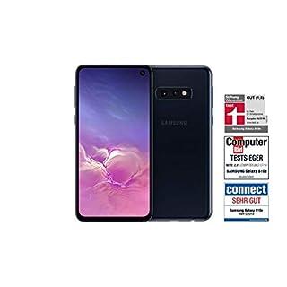 Samsung Galaxy S10e Smartphone (14.7cm (5.8 Zoll) 128GB interner Speicher, 6GB RAM, Dual SIM, Prism Black) Deutsche Version