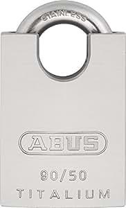 ABUS 90RK/50 B/DF Cadenas blinde 50 mm Titanium inoxydable