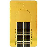 Preisvergleich für censhaorme 100pcs Platz Nägel Formular Aufkleber-Nagel-Papierhalter für UV-Gel-Nagel-Maniküre
