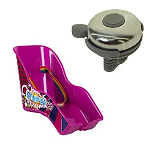 Bumper Dolly Rear Child Toy Seat Carrier Plus Bell