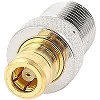 DealMux tipo F hembra a adaptador de conector RF SMB hembra coaxial