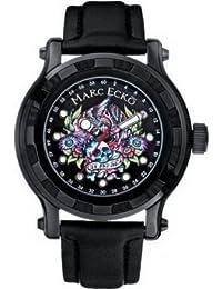 Marc Ecko E16580G1 el diseño de reloj para hombre con esfera negra y correa ...