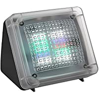 AVANTEK Simulateur de Présence TV Contre les Cambriolages Intrusion, Simule un Téléviseur Fake TV Fausse Télévision Dispositif, Capteur de Lumière LED intégré, 2 Programmes(4 heures et 8 heures)