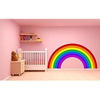 Rainbow wall sticker decal plain children