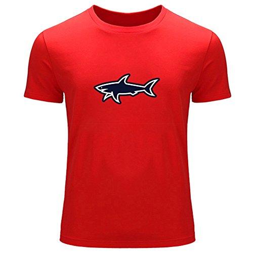 7dc0bce7a Camiseta de manga corta Paul & Shark, para hombre Rojo rosso X-Large